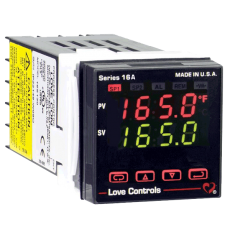 Контроллер температуры/технологического процесса серии 16A