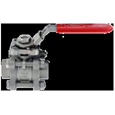 Трехкомпонентный шаровой клапан 2BVS из нержавеющей стали