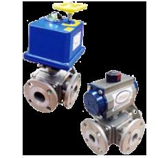 Автоматизированный шаровой клапан серии 3BV2