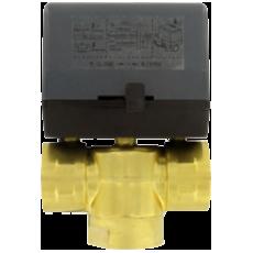 3-ходовой зонный клапан с легко съемным приводом серии 3ZV2