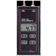 Дифференциальный ручной точный манометр 477A