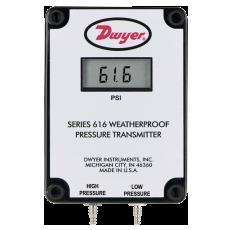 Датчик дифференциального давления серии 616W