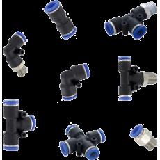 Пневматические фитинги для быстрого присоединения серии A-3000