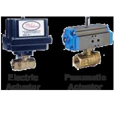 Автоматизированный латунный шаровой клапан серии ABV