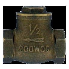 Латунный обратный клапан BFC с шарнирной заслонкой