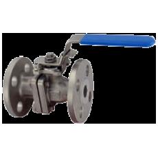 Двухдетальный фланцевый шаровой клапан BV2FH из нержавеющей стали