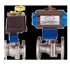 Автоматизированный шаровой клапан серии BV2-F1