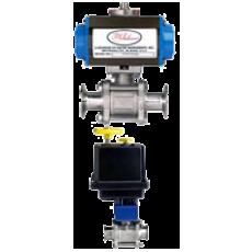 Автоматизированный шаровой клапан серии BV3-3A