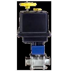 Автоматизированный шаровой клапан серии BV3-TC
