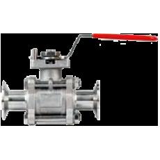 Трехдетальный санитарный шаровой клапан BV3HL-3A
