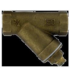 Латунный Y-образный грязевой фильтр BYS