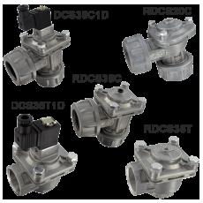 Беспружинные диафрагменные клапаны серии DCS/RDCS