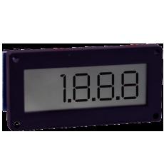ЖК цифровой панельный измеритель DPMF с установкой на поверхности