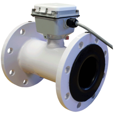 Фланцевый электромагнитный датчик потока воды серии FLMG