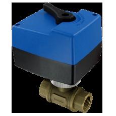 Двухходовой шаровой клапан серии HBAV