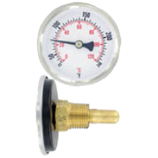 Биметаллический термометр серии HWT250