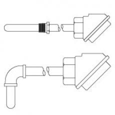 Узел защитной трубки типовой термопары серии 7