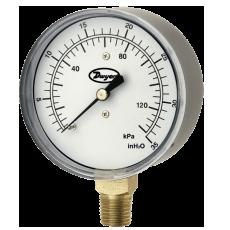 2.5˝ манометр низкого давления серии LPG4