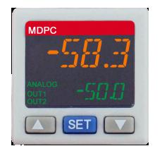 Цифровой контроллер давления серии MDPC