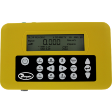 Переносной комплект ультразвукового расходомера серии PUF