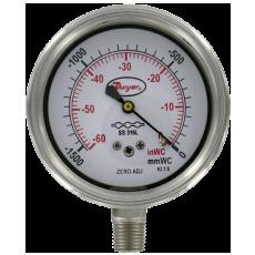 Манометры низкого давления SGX/SGF из нержавеющей стали (63.5 мм)
