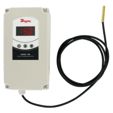 Атмосферостойкий цифровой терморегулятор серии TSW
