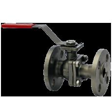 Двухсоставной фланцевый шаровой клапан WE04 из нержавеющей стали