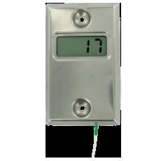 Настенный плоский цифровой индикатор температуры WTI-100 с ЖК-дисплеем