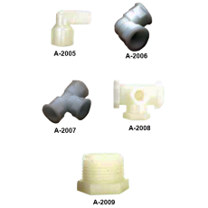Нейлоновые фитинги серии A-2000