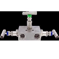 3-х вентильный блок (манифольд) серии BBV-1