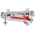 Портативный жидкостный манометр из прочного пластика серии 100 Durablock