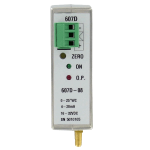 Датчик дифференциального давления, монтируемый на рейке DIN серии 607D