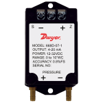 Компактный датчик дифференциального давления 668B/D