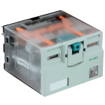 Реле с переключателем 4PDT в прозрачном корпусе серии 784