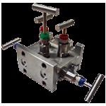 5-клапанный блок (манифольд) с отводным коллектором серии BBV-2