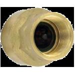 Латунный линейный обратный клапан BICV