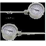 Биметаллические термометры с установкой на боковой стороне BTL