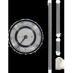 Биметаллические термометры для поверхности серии BTP