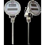 Цифровой биметаллический термометр с солнечной батареей DBT