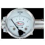 Недорогие ротаметры для воды, нефтепродуктов или воздуха DTFF из нержавеющей стали