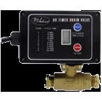 Автоматический сливной клапан серии DV работающий от таймера
