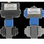 Автоматизированный шаровой клапан серии PBV