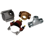 Лопастной расходомер серий PDWS с патрубками PWF