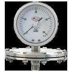 Манометры низкого давления SGP/SGO, с диафрагмой из нержавеющей стали