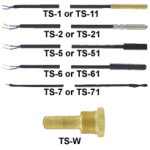 Зонды для цифрового реле температуры серии TS-PROBES