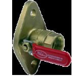 Однофланцевый шаровой клапан серии UBV